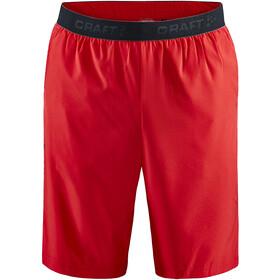 Craft Core Essence Relaxed Shorts Men, czerwony